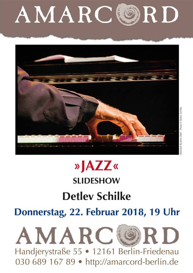 »JAZZ« SLIDESHOW Detlev Schilke